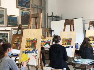 Corso disegno e pittura sabato